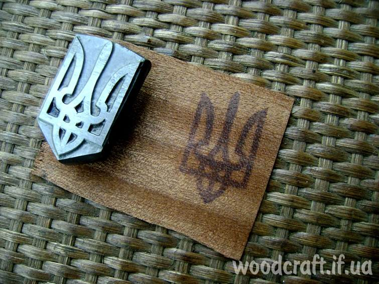 stamp for burning on wood