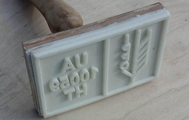 силиконовый штамп на поддон